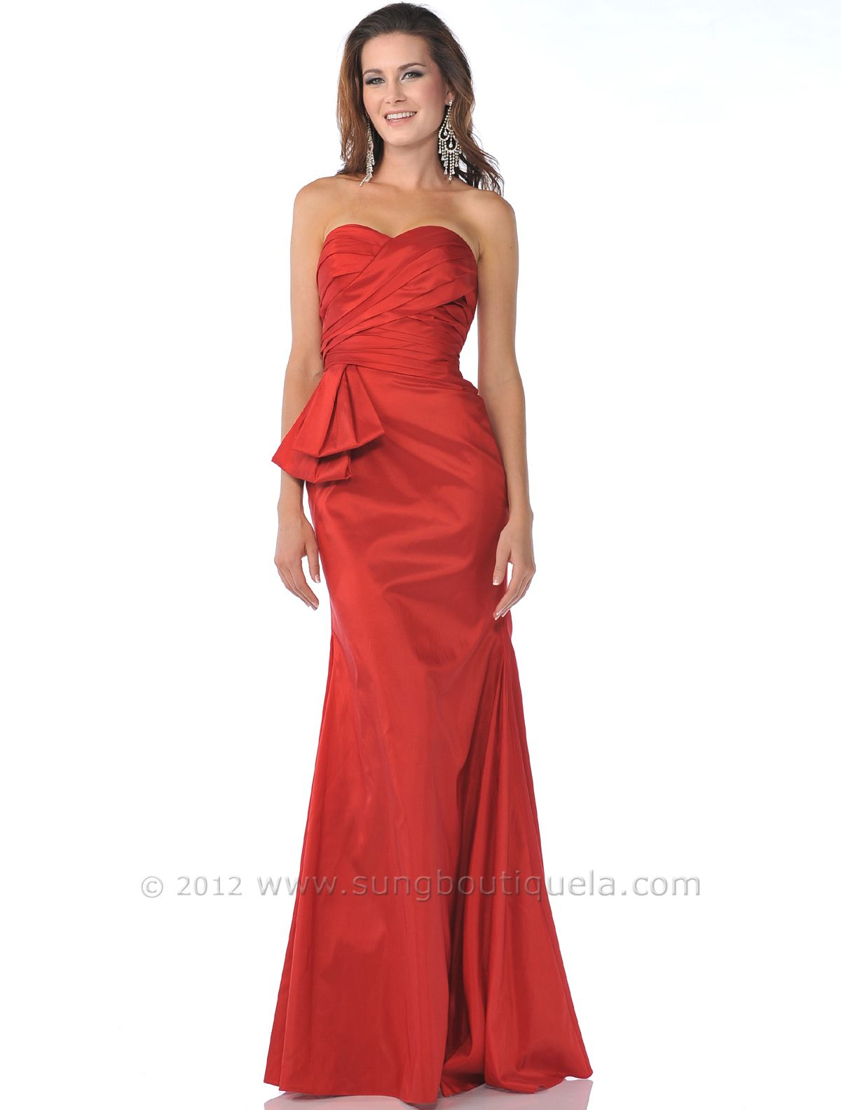 Strapless Taffeta Evening Dress. Style #: 1357. For only $68. Get ...