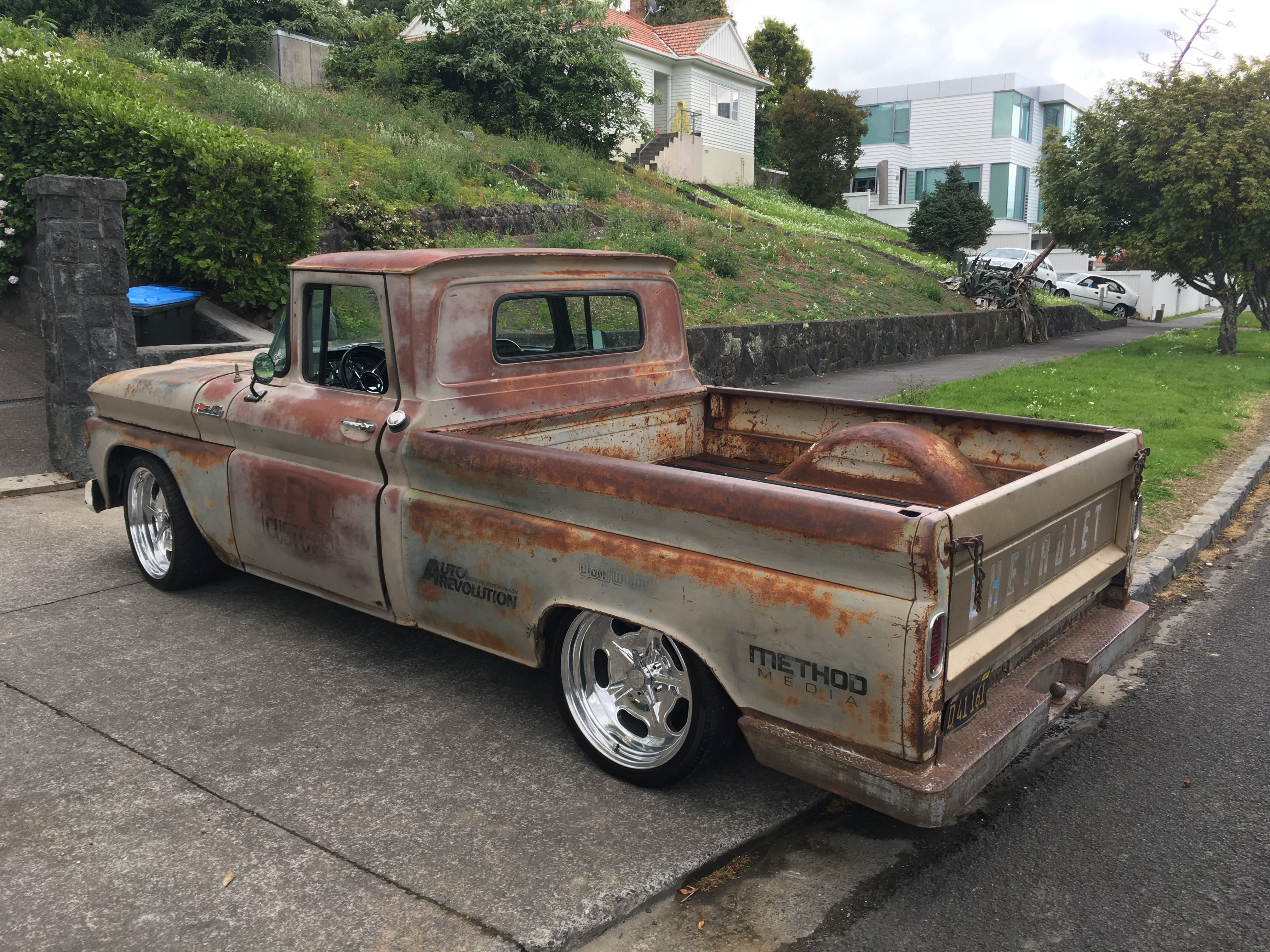 Ready For It S New Paint Job Or Maybe Not Classic Pickup Trucks Lowrider Trucks C10 Chevy Truck