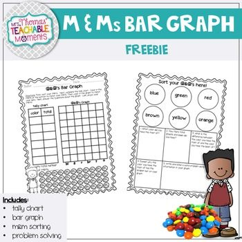 Bar Graph M M S Activity Freebie Bar Graphs Activities Bar Graphs Graphing Activities Free printable bar graph