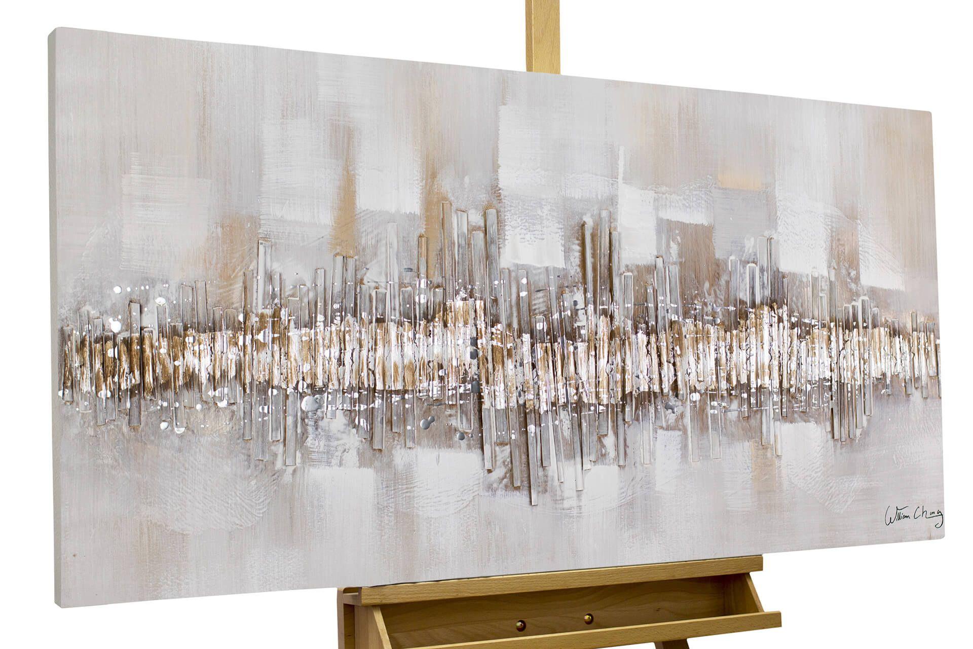 handgemaltes acryl bild 120x60cm leinwand abstrakt bran grau beige versandkostenfrei 100 tage ruckgaberecht e handgemalte bilder gemalde 90x60 oder poster