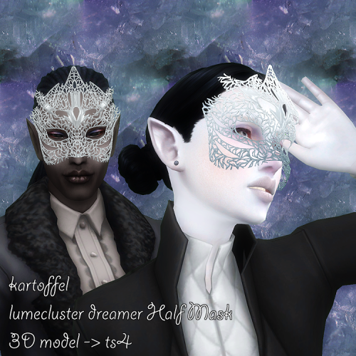 The Best: Lumecluster Dreamer Half Mask By