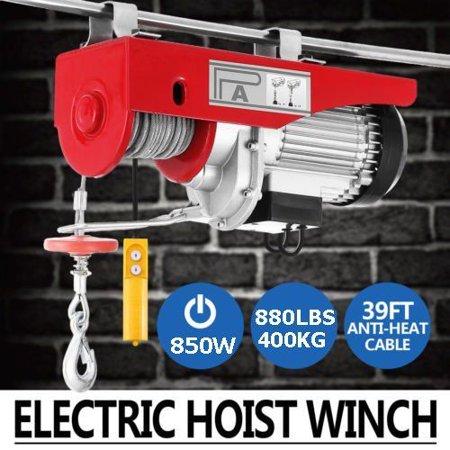 Electric Hoist 880LBS Lift Electric Hoist 110v Mini Electric ... on