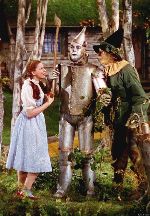 Judy Garland Jack Haley The Tin Man Ray Bolger The Scarecrow