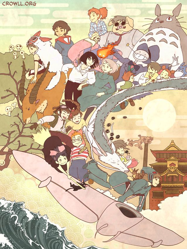 miyazaki chatrooms If you've seen any miyazaki movies you know that there are so many great female characters which one is the most like you.