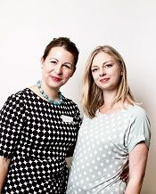 WiBBLErs Andrea Brindle and Jennie Heath of htttp://www.SewIconic.co.uk