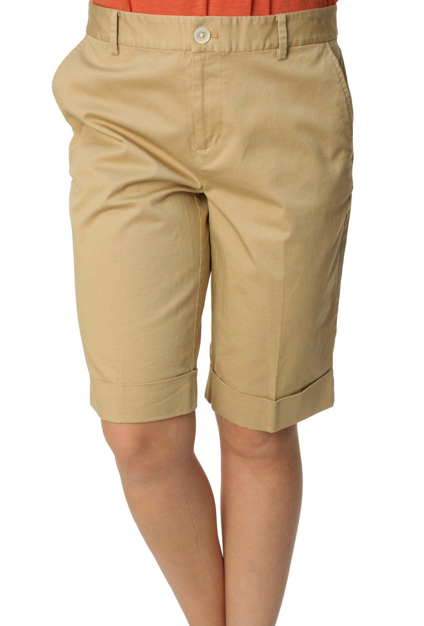 Ralph Lauren Green Label Women's Knee Length Shorts