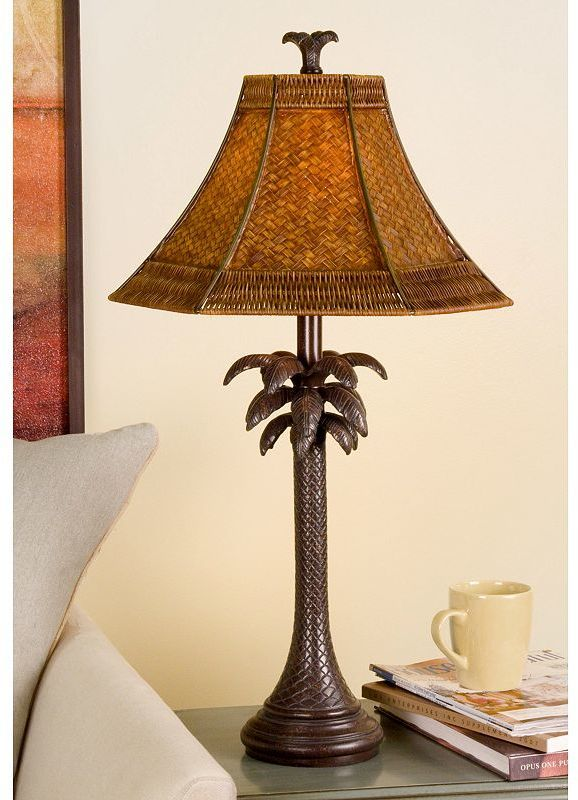 Kohls Table Lamps Gorgeous Kohl's French Verdi Palm Tree Table Lamp $9349  Home Decor Inspiration