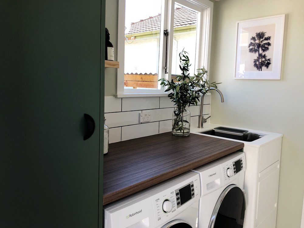 Pearson And Projects Laundry Concrete Floors Secrets Wall