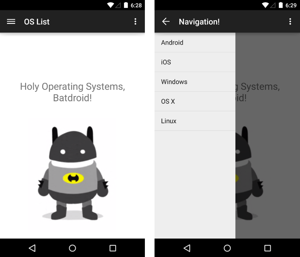 How to add a navigation drawer in android android programming tutorial how to make a navigation drawer in your android app http baditri Image collections