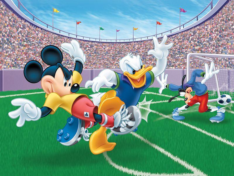 Картинки про футбол из мультиков
