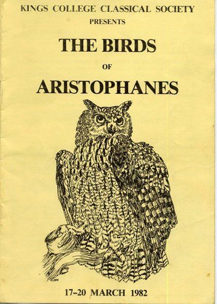 aristophanes scenes from birds greek texts