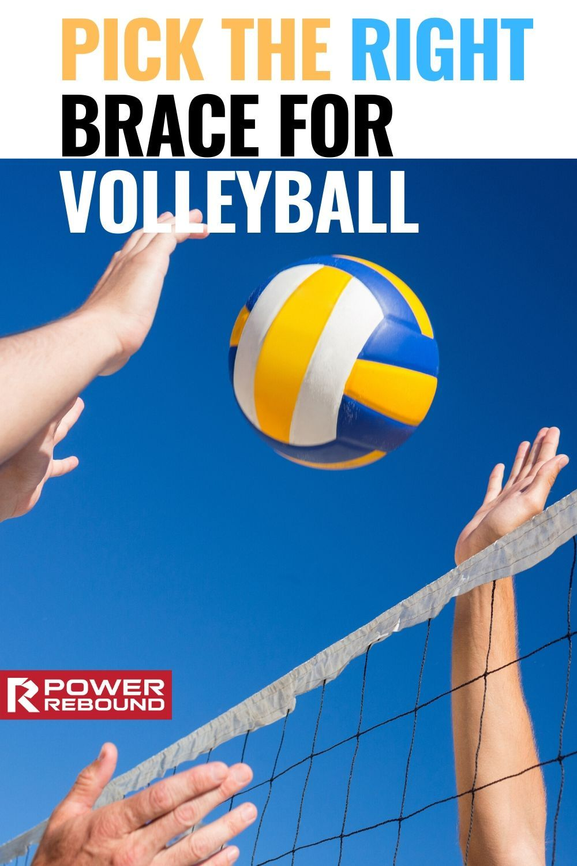Power Rebound Volleyball Knee Pads Pair In 2020 Volleyball Knee Pads Volleyball Knee Pads