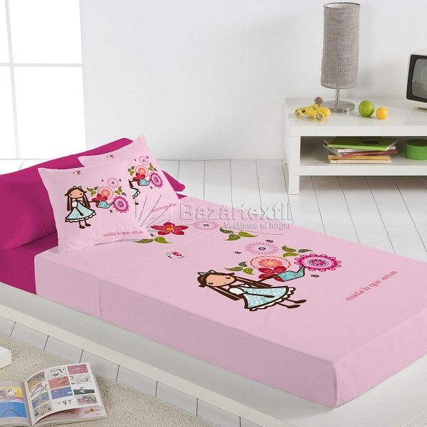 SÁBANAS ALICIA FLORES IGÜI | Toddler bed, Home, Bed