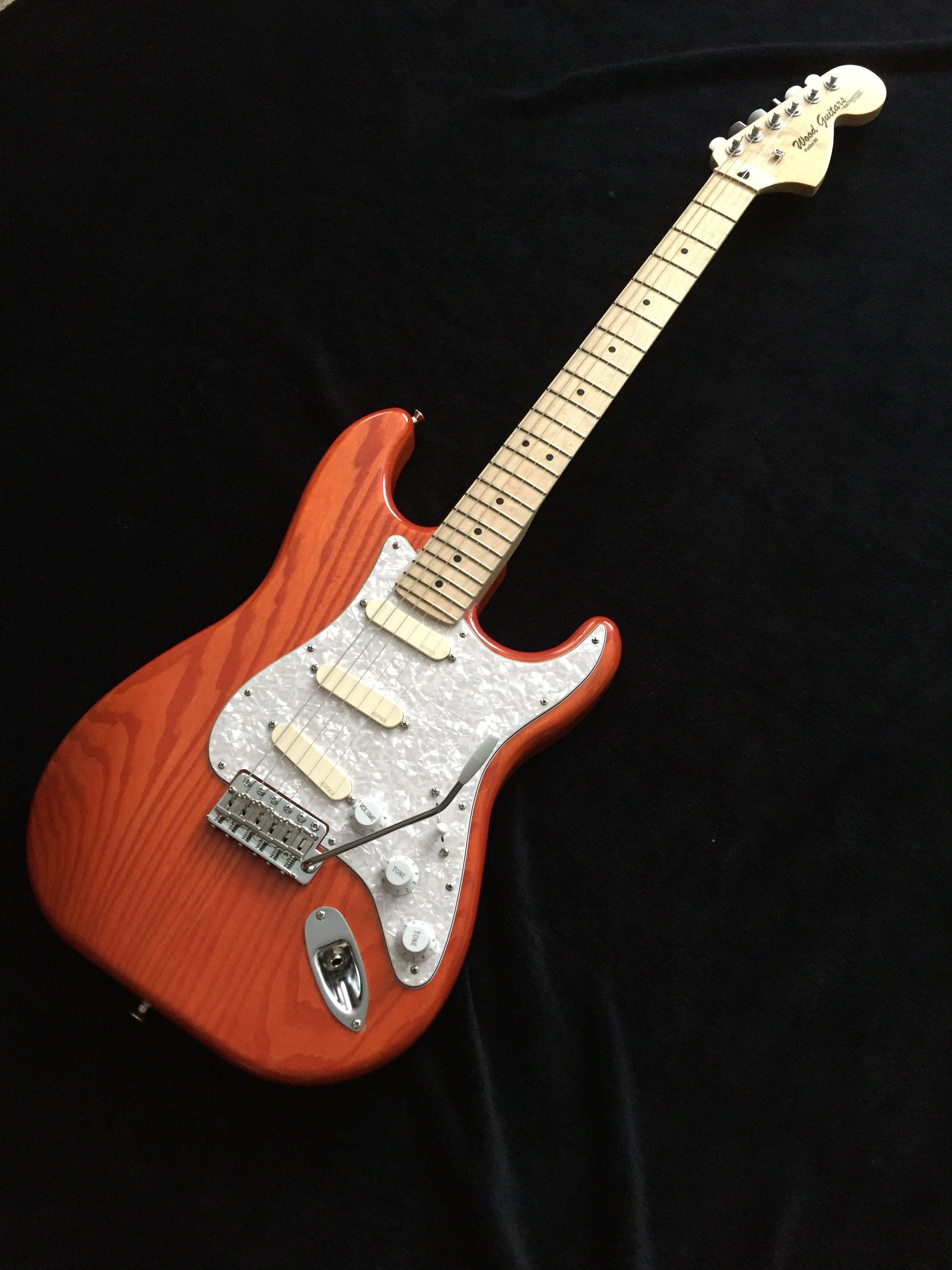 Swamp Ash Stratocaster, Maple neck, EMG David Gilmour
