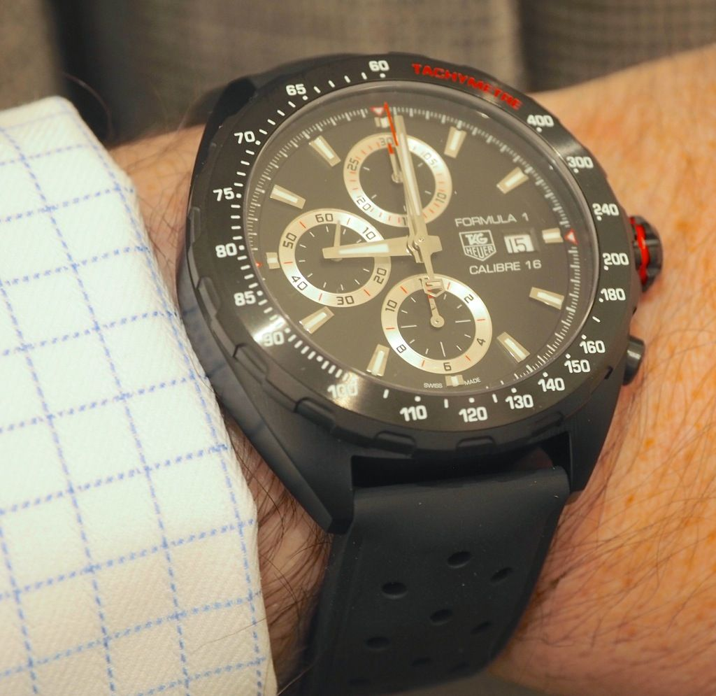 First Look 2014 Tag Heuer Formula 1 Automatic Calibre 16 Full