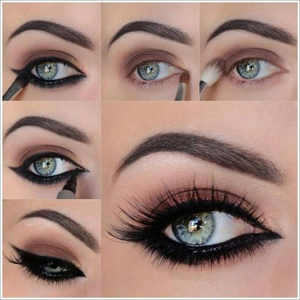 Photo of Smokey eye color makeup trends – hairstyles women