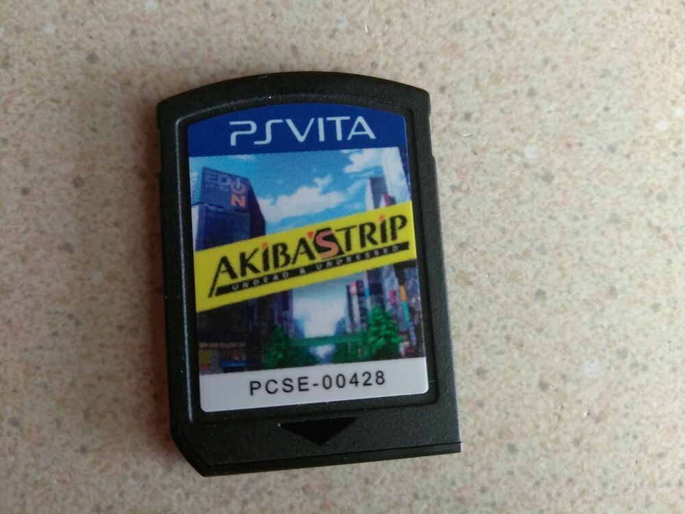 Akiba S Trip Undead Undressed Sony Playstation Vita 2014