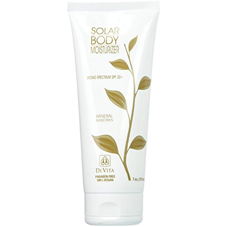 Devita Natural Skin Care Solar Body Moisturizer Broad Spectrum Spf 30 7 Oz Check This Awesome Product By Going Body Moisturizer Skin Care Natural Skin Care