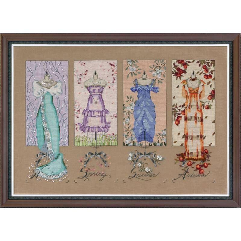 Mirabilia - Dressmakers Daughter MD121 de Nora Corbett - Univers Broderie
