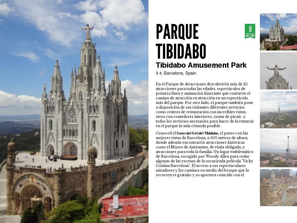 Parque de atracciones y monumentos del tibidabo amusement - Calle manso barcelona ...