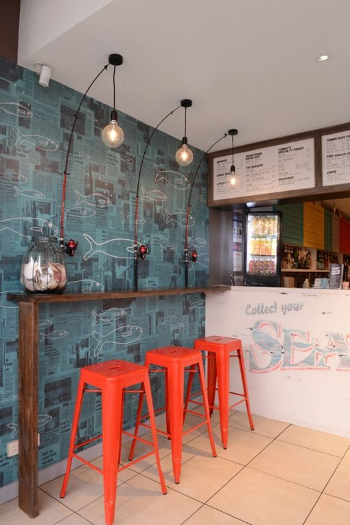 Tommy ruff fish bar fit out by studio equator http www for Fish market design ideas