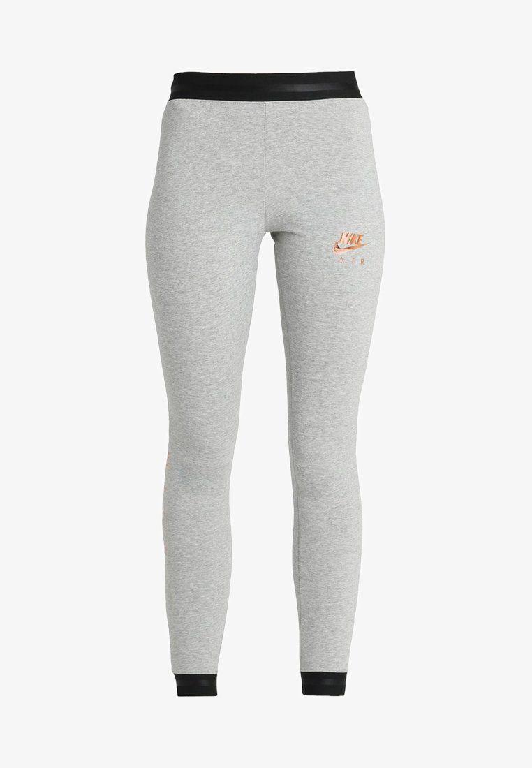 new product a3dc0 56255 Nike Sportswear AIR - Leggings - Trousers - dark grey heather black -  Zalando.