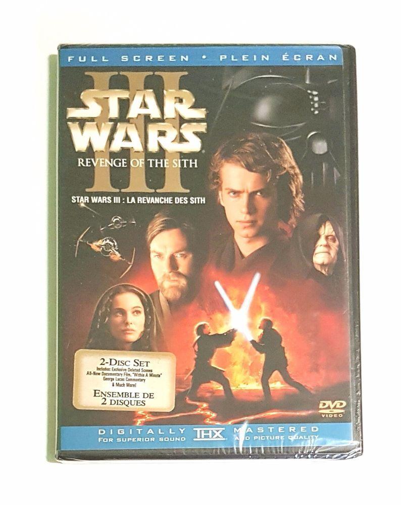 Star Wars Episode III: Revenge of the Sith (DVD, 2005) 2-Disc Set - New   eBay