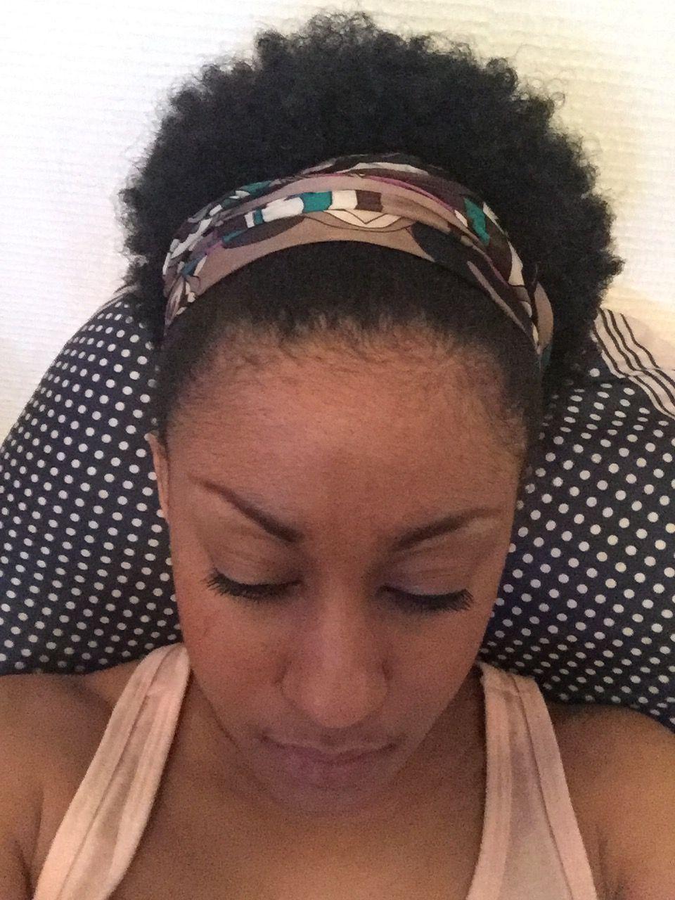 Short natural hair with headband  b56943949e4