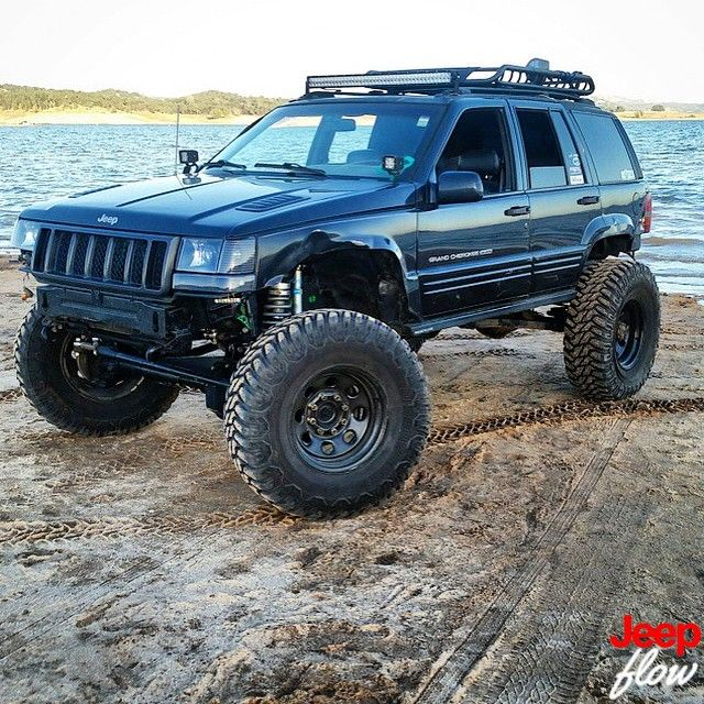 Pin By Eric Kahinu On Jacked Up Trucks Jeep Zj Jeep Grand