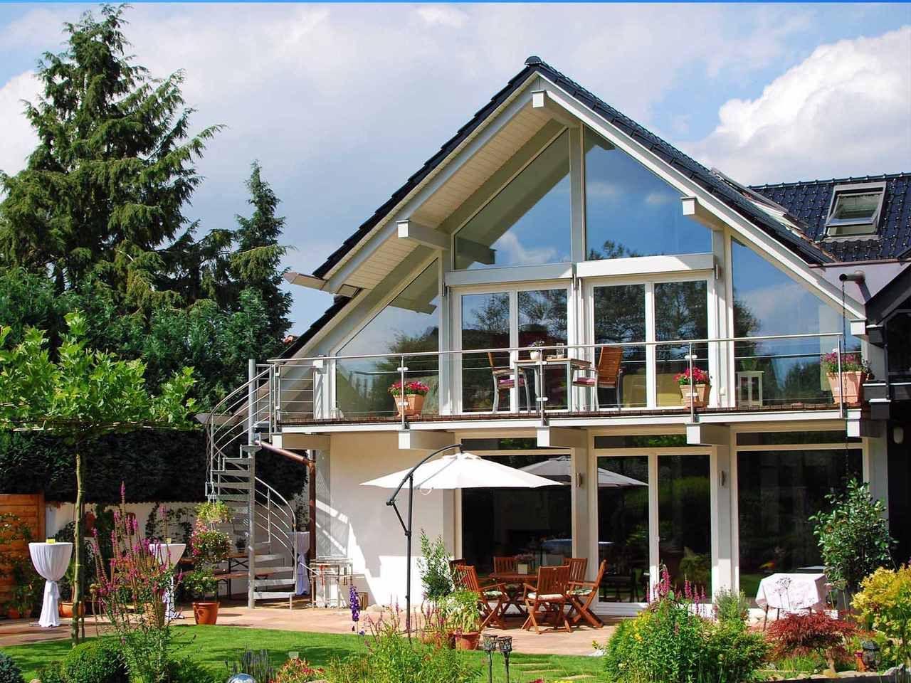 Musterhaus Kd Haus 250 Modernes Fachwerkhaus Fachwerkhauser Musterhaus Haus