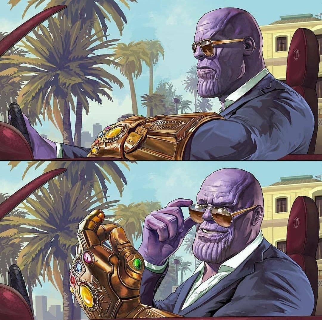 Thanos for President in 2020 Marvel fan art, Marvel