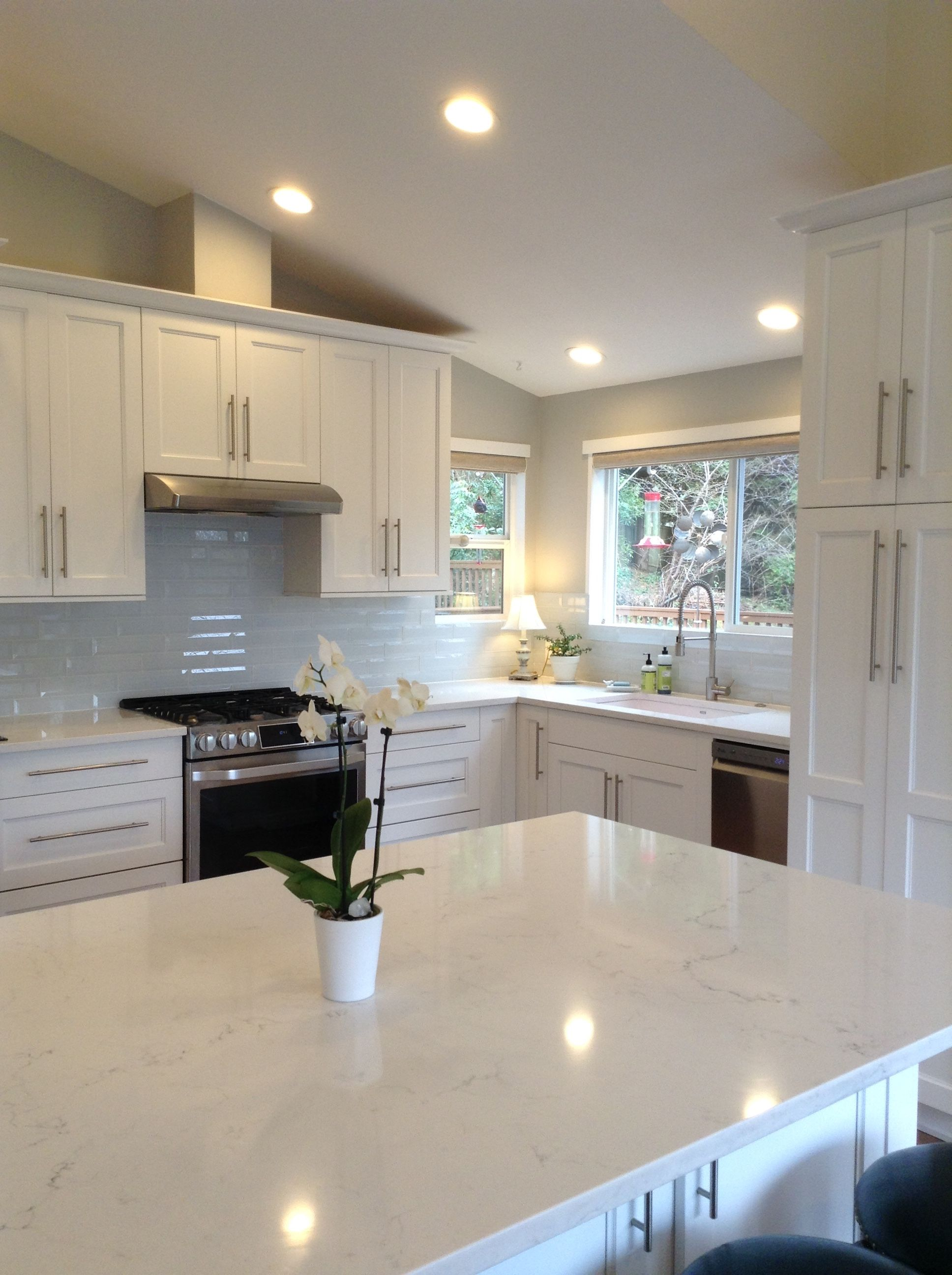 Latitude Cabinets Deco White Paint Kitchen Paint Interior Design Kitchen Kitchen Design Small