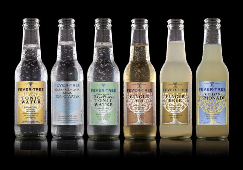 Fever Tree Premium Tonic Water Mixer Drinks Best Slimline