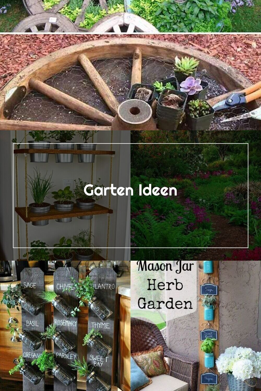 Garten Ideen Top 19 Coole Ideen Fur Ein Rundes Gartenbett Mit Recycelten D Herb Garden Design Herb Garden Garden Design