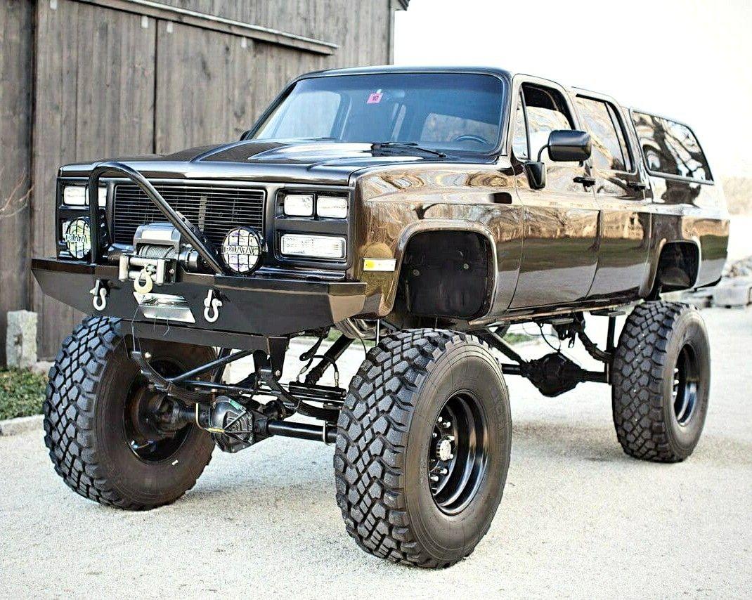 1991 Chevy Suburban 2500 Rock Crawler Chevy Suburban Chevy