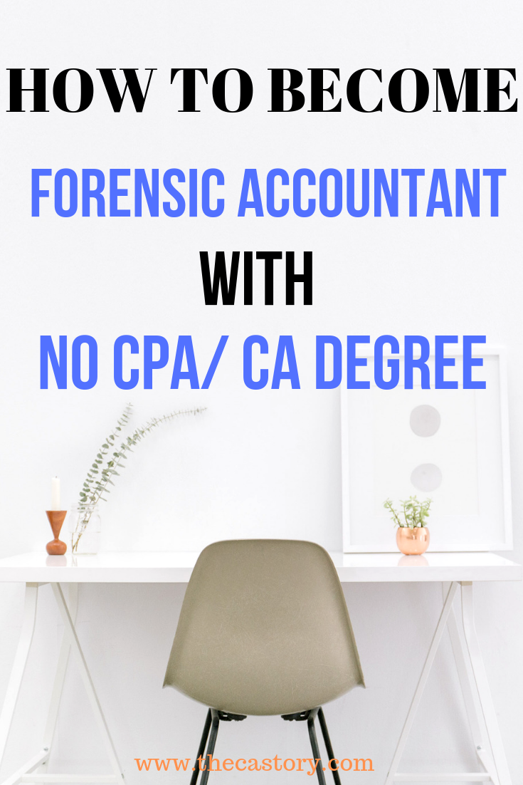 How to become a Forensic Accountant with no CA / CPA ...
