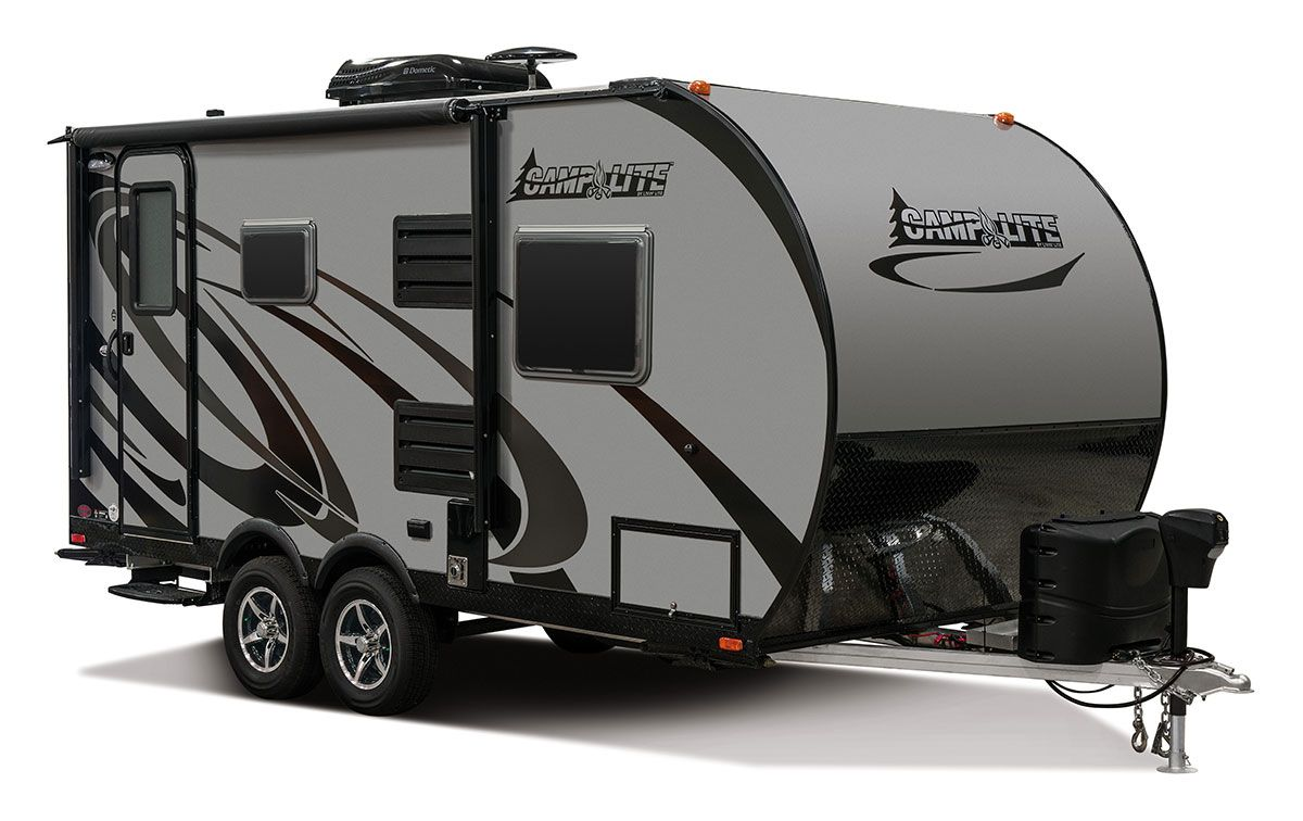 2017 Livin' Lite CampLite CL16DBS Travel Trailer Exterior ...