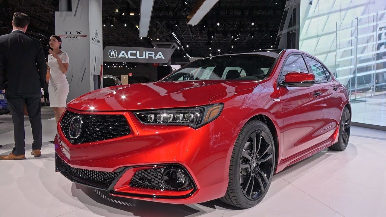 2020 Acura Tlx Pmc Edition Detailed Look 2019 Nyias Acura Tlx Acura Black Doors