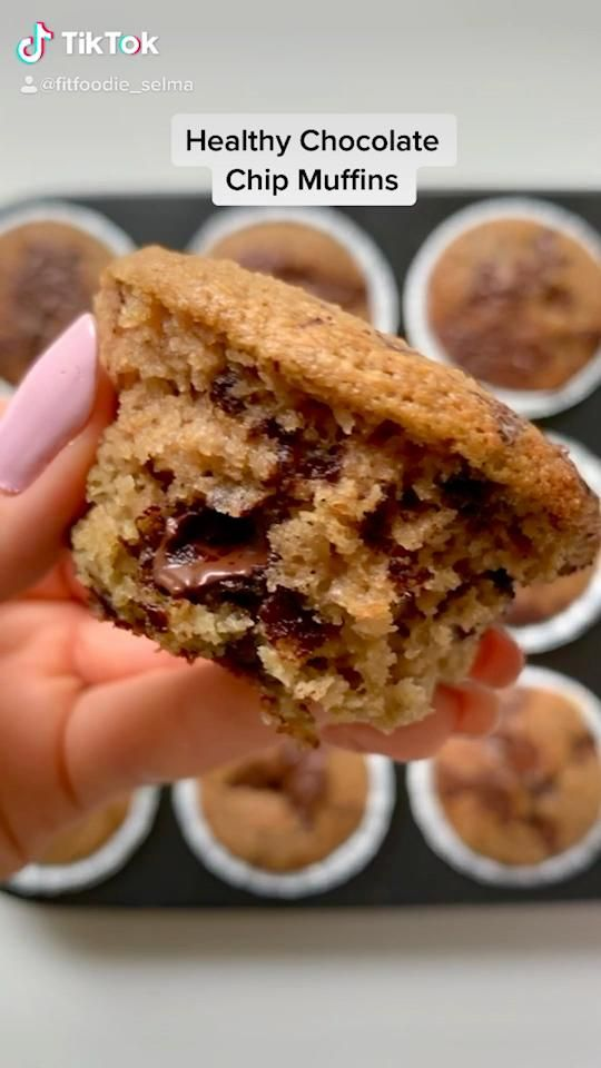 Photo of Healthy Gluten-free Chocolate Chip Muffins