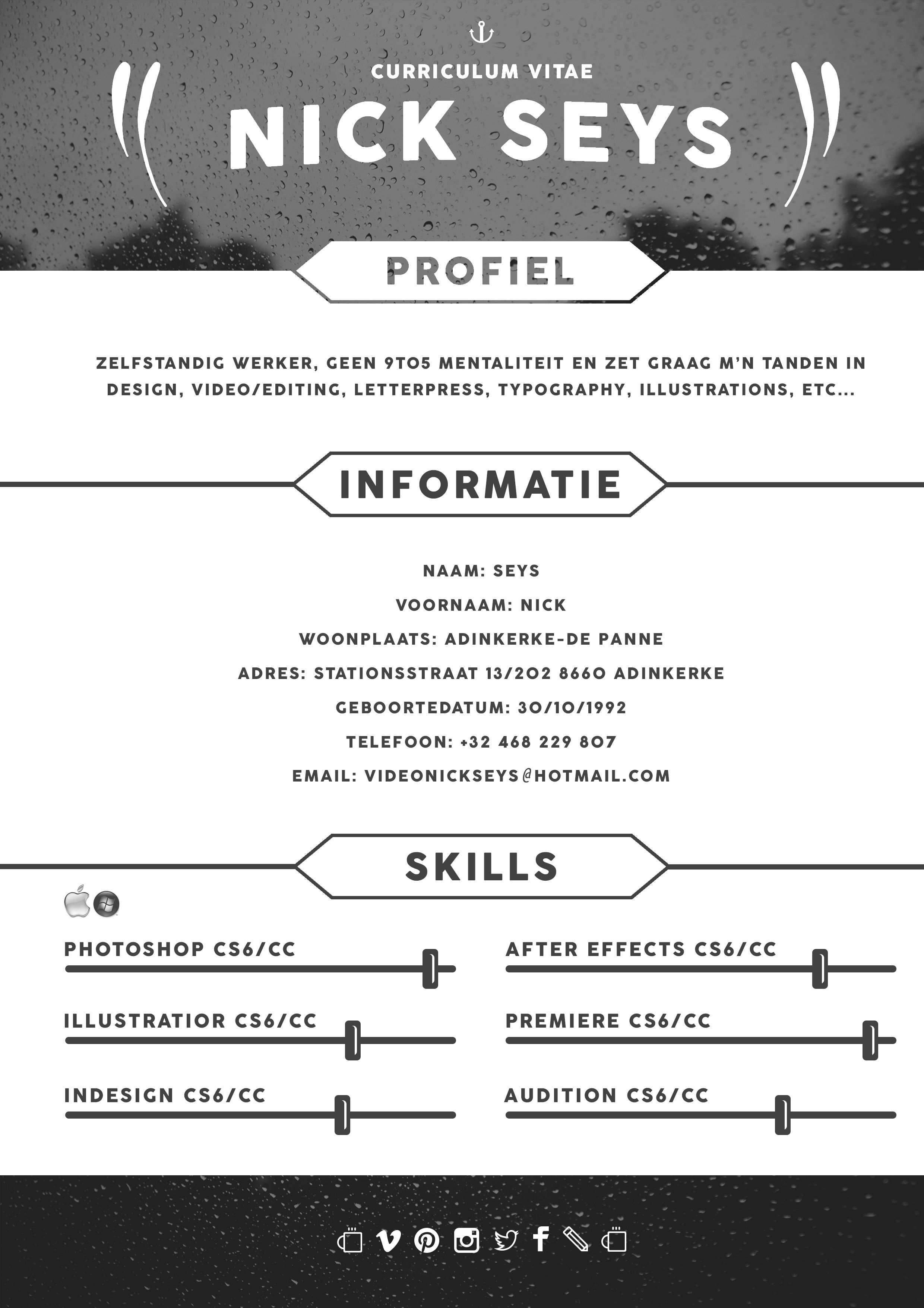 Curriculum Vitae - 2015 - Graphic - Design - CV | Portfolio 2014 ...