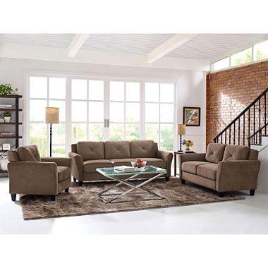 Room · $699   Harris Teardrop Arm 3 Piece Living Room Set