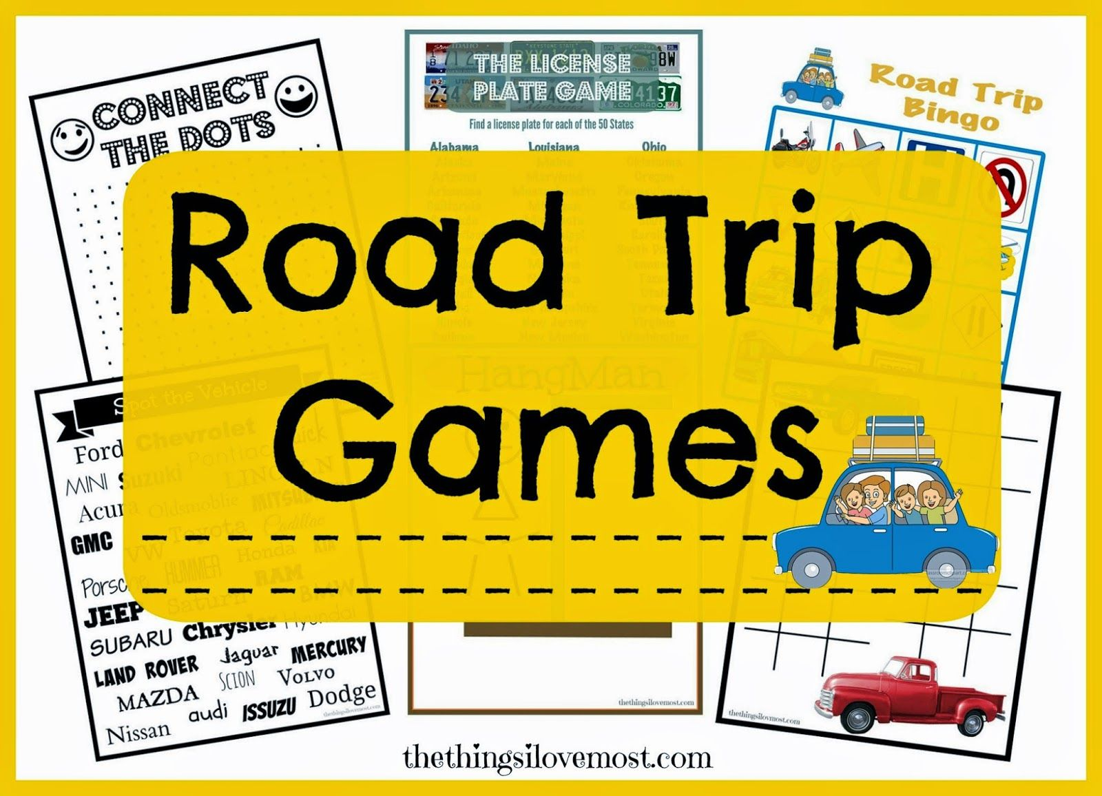 free printable road trip travel games 10 ways to keep your kids entertained while traveling