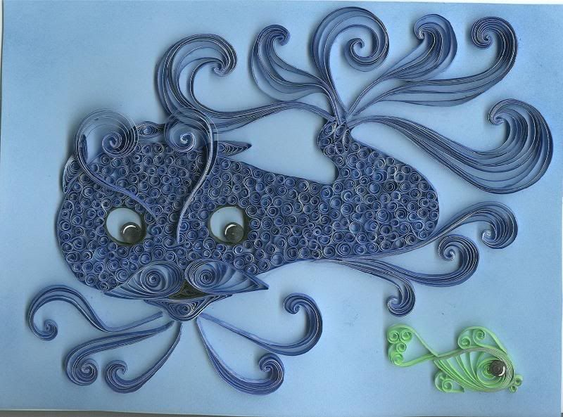 quilled fish.... awesome!!!
