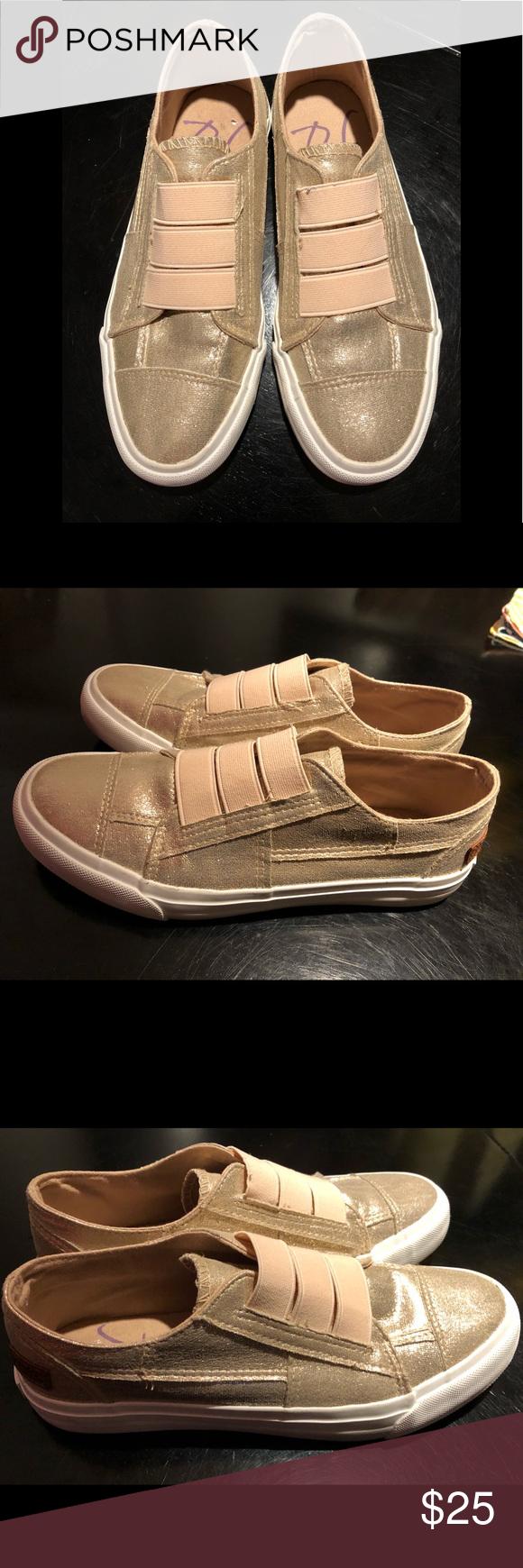 10c5e12544cf Blowfish Maura Super cute rose gold Blowfish Maura slip ons Blowfish Shoes  Sneakers