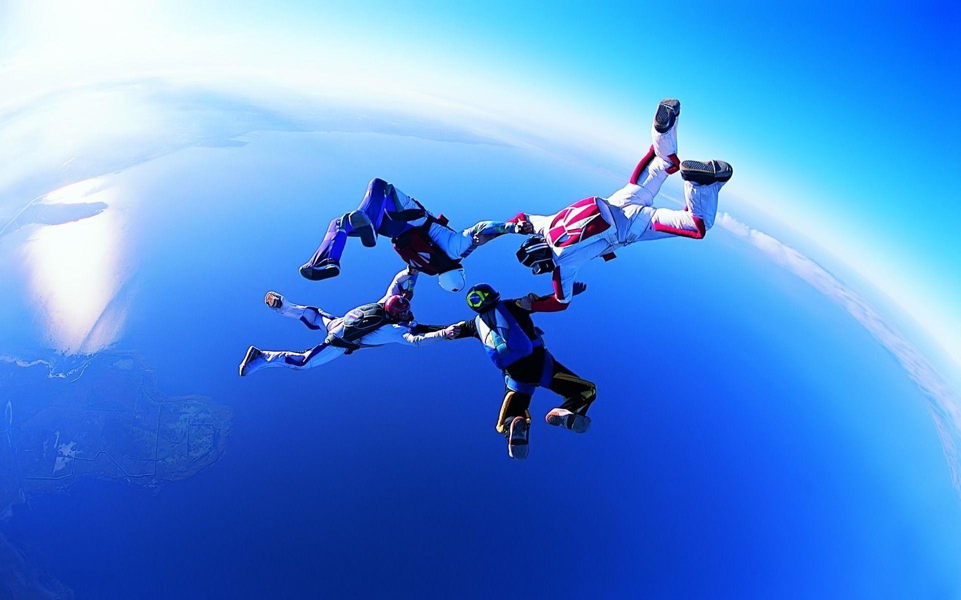 Skydive HD wallpaper HD Adventure, Sports wallpapers