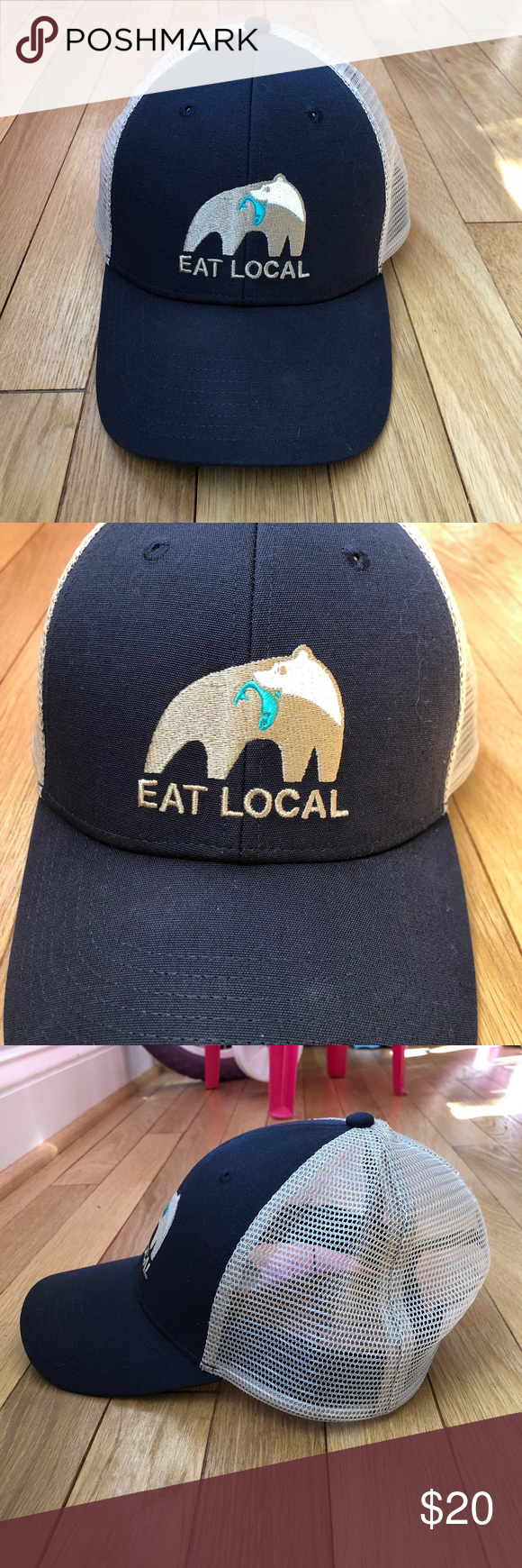 ba560c9a77 Patagonia Eat Local Trucker Hat