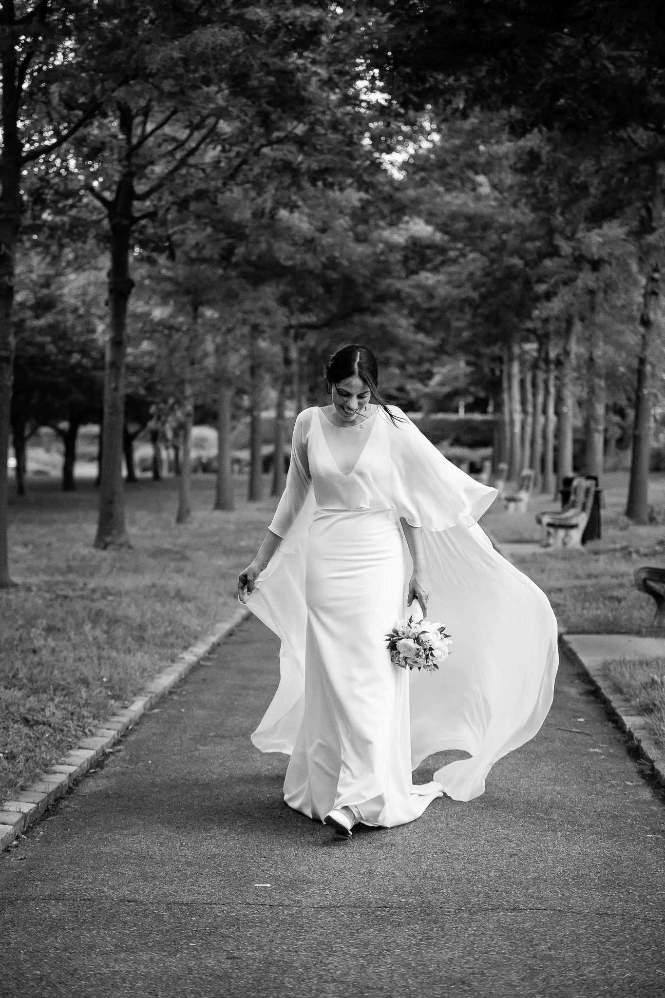Brooklyn Botanic Gardens Wedding Yasmin and John