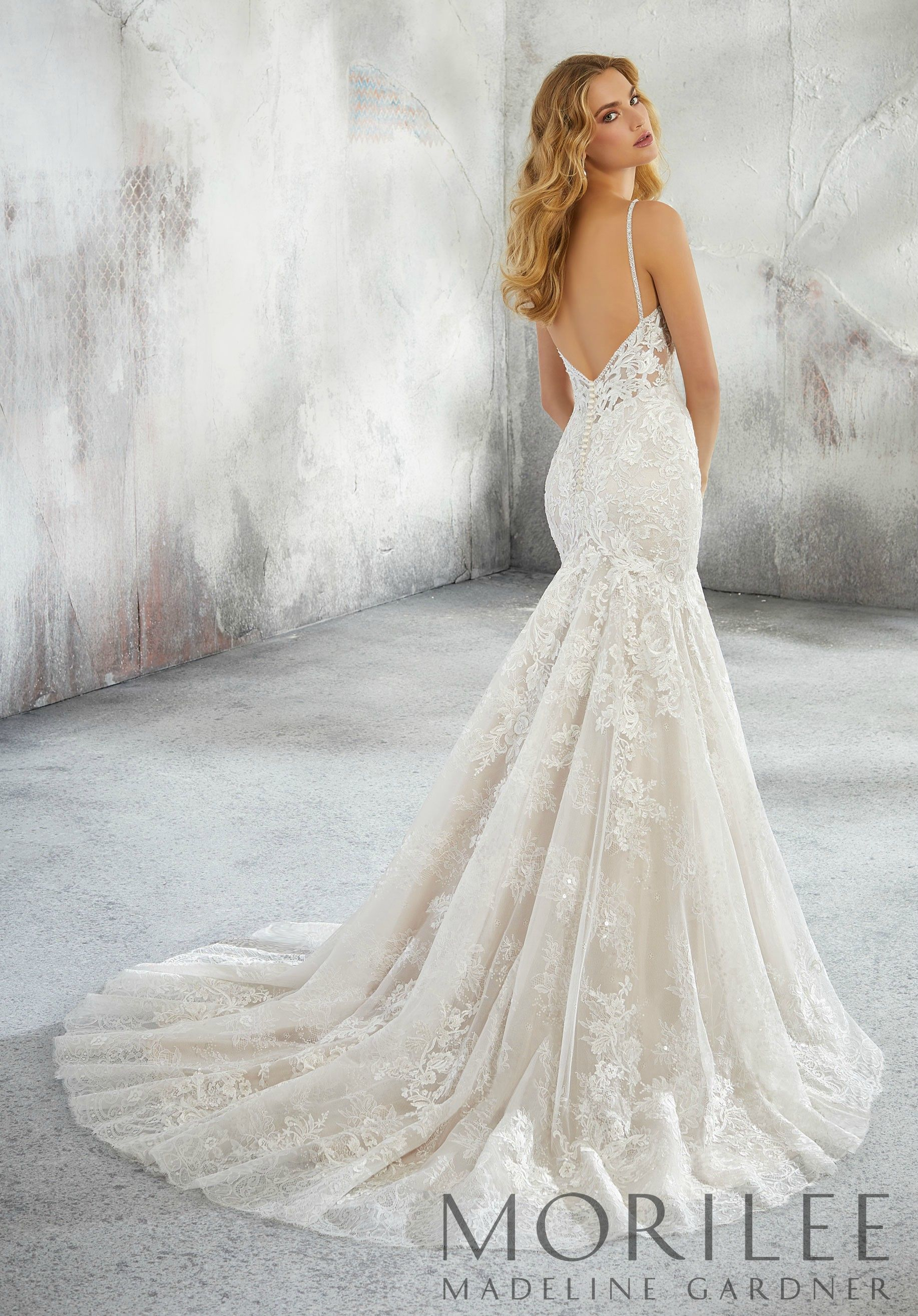 Morilee  Madeline Gardner Lexi Style   Classic Chantilly Lace