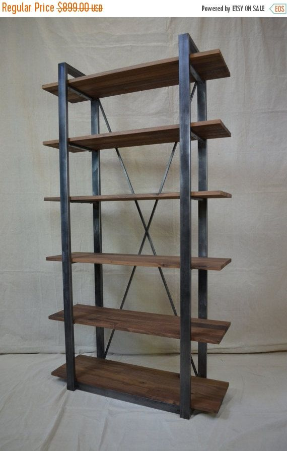 ON SALE NOW Industrial Rustic Shelving by MetalTreeFurniture