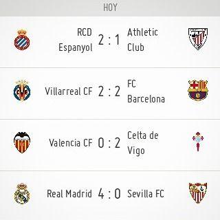 #Resultados #LaLiga #Jornada30